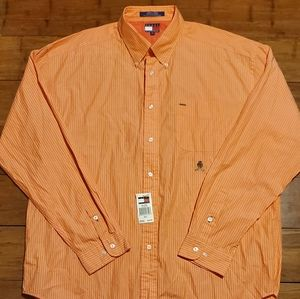 NWT Tommy Hilfiger Men's Casual Button Shirt